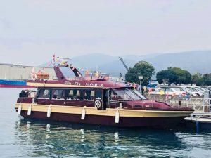 竹原港と大久野島の定期フェリーうさぎの想い出